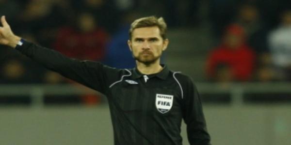Alexandru Tudor va arbitra un meci de Liga Campionilor
