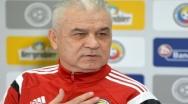 Anghel Iordănescu are probleme cu lotul naţionalei: Am căutat un fundaş dreapta prin toată divizia