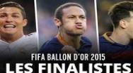 Balonul de Aur 2015: Iata care sunt finalistii