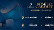 Champions League, semifinale: Real Madrid vs Atletico Madrid, Juventus vs AS Monaco