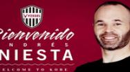 Andres Iniesta a semnat cu formaţia japoneză Vissel Kobe