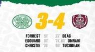 CFR Cluj învinge Celtic cu 4-3 și se se va duela cu Slavia Praga pentru grupele Champions League / Ardelenii, siguri de prezența în grupele Europa League